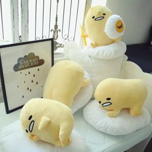 50*40 cm Soft Gudetama Plush Toys Dolls Cushion Stuffed Cartoon Figure Toys