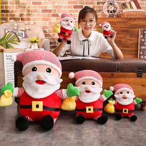 28/35/50/80 cm Soft Santa Claus Plush Toy Soft Christmas Doll Gift For Children