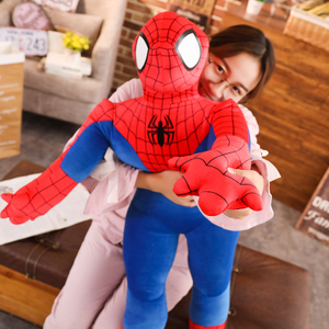 50/60/80/100 cm Stuffed Super Hero Spider Man Plush Toys Doll Cushion Pillow Toys For Children Kids Gifts