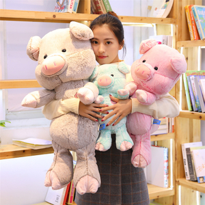30/40/60/80 cm Soft Pig Plush Toy Soft Stuffed Cute Animal Pig Lovely Dolls for Kids Appease Toy Baby's Room Decoration
