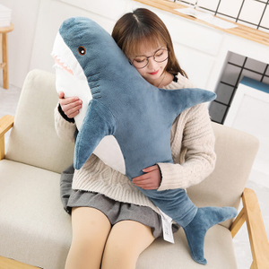 Soft Stuffed Toy Shark Cute Sleeping Pillow Toys