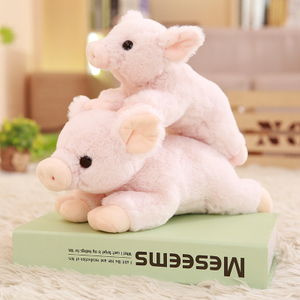 23/30 cm Soft Pink Pig Adorable Plush Toy Soft Stuffed Cute Animal Pig Lovely Dolls for Kids Appease Toy Baby's Room Decoration