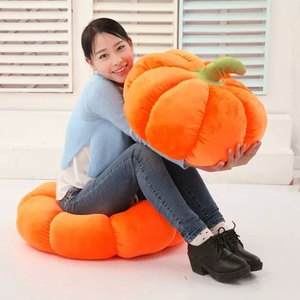 18/28/38/58cm Soft Halloween Pumpkin Pillow Squishy Soft Toys For Halloween Decorations