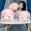 30/40/50 cm Soft Pink Pig Plush Toy Stuffed Cute Plump Pig Lovely Dolls for Kids Appease Toy Baby's Room Decoration