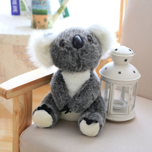 18/22/28cm Simulation Koala Plush Toy Stuffed Animal Australia Koala Toys For Children Education Home Decoration Decent Bed Toy