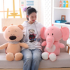 50/60/85 cm Elephant Bear Soft Plush Toy Stuffed Animal Elephant Baby Appease Placating Toy Cotton Plush Toy For Children