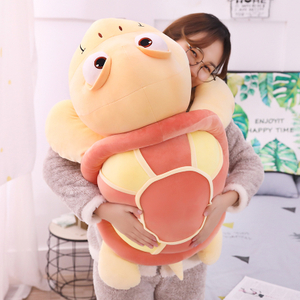 45/55/65/80 cm Soft Turtle Plush Toy Stuffed Animal Cartoon Turtle Plush Soft Toys For Children's Bed Toy