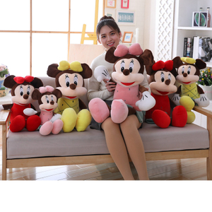 Stuffed Toy Mickey Mouse Mickey & Minnie Plush Toys 50/70/90 cm For Children